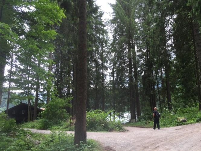 Wanderung am See