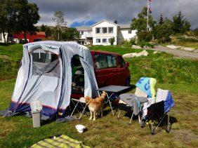 Campen in Kabelvåg