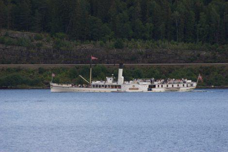 Dampfer auf dem Mjøsasee