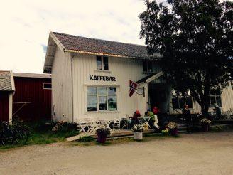 Café in Reine
