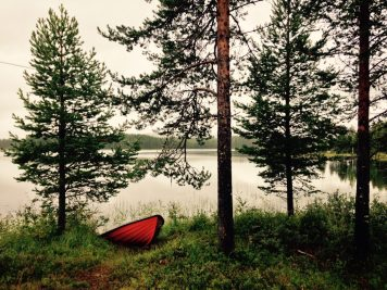 Seeufer in Norsjö