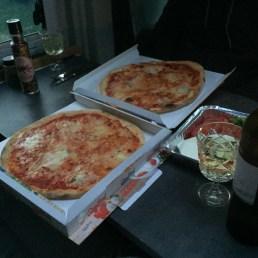 Pizza zum mitnehmen!