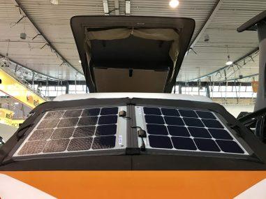 abschließbare Solarmodule von WSR: um 1.500 Euro