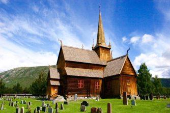 Stabkirche in Lom - duftet, wie sie aussieht
