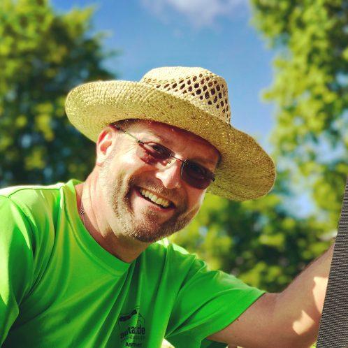 Andreas Irmer auf der Camp Roadshow – bald geht's auf den Caravan Salon
