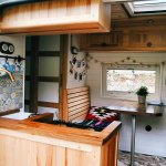 the best designs of vans for camping and adventure in the woods and snow