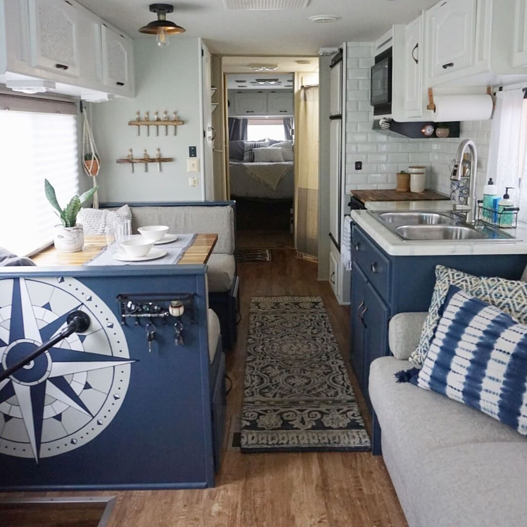 14 Best RV Camper Interior Remodel Ideas