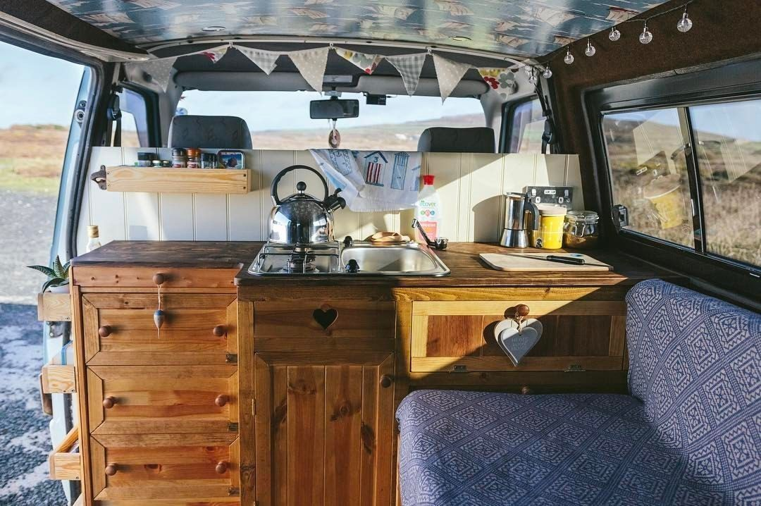 15+ Dreamiest Rustic Camper Remodels Ideas