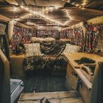13 Colorful Boho Chic Camper Makeover DIY