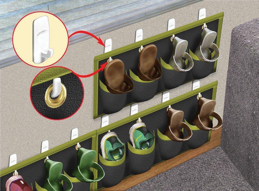 Shoe Organization Hacks for Your RV - camperlife