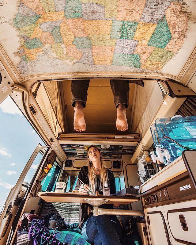 11 Campervan Creatives Interior Decor Ideas