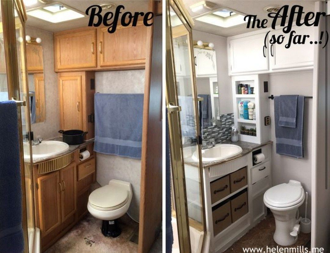 11 Wonderful Small RV Bathroom