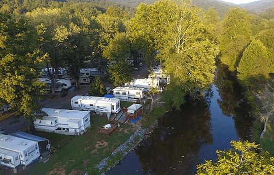 Cullasaja River RV Park