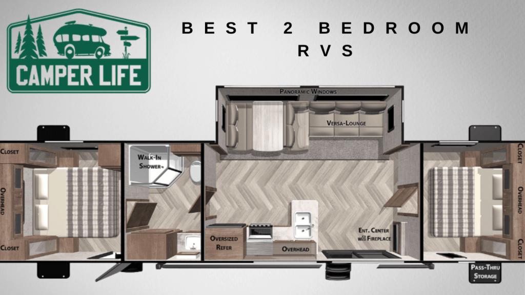 Best 2 Bedroom RVs