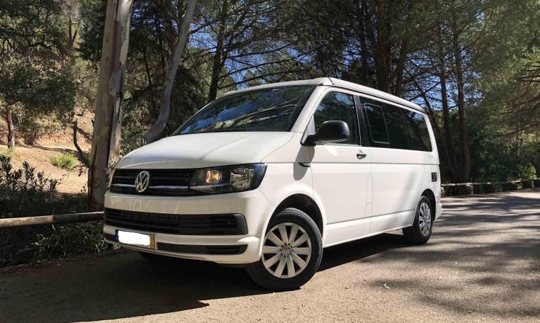 2019 VW California Coast for sale front left.