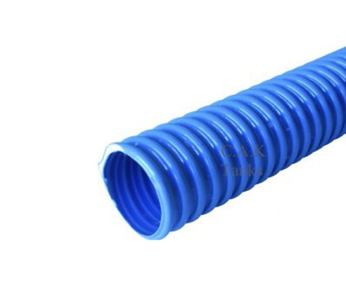 40mm water fill hose, blue.
