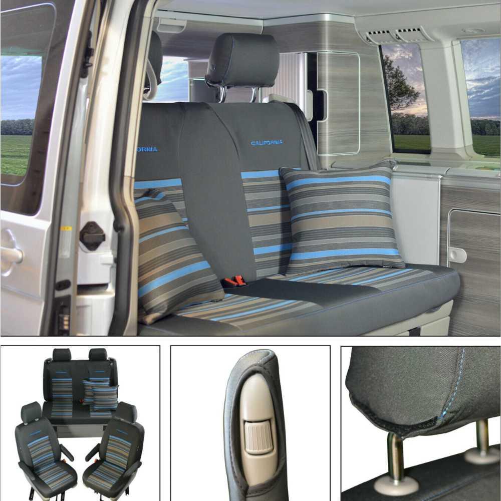 Capas de assento VW T5 e T6.