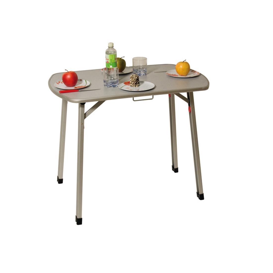 Motorhome camper folding table.