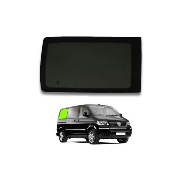 VW T6 right rear tinted glass.