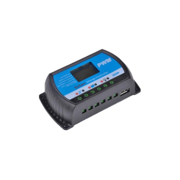 Solmax charge controller for campervan solar panel.