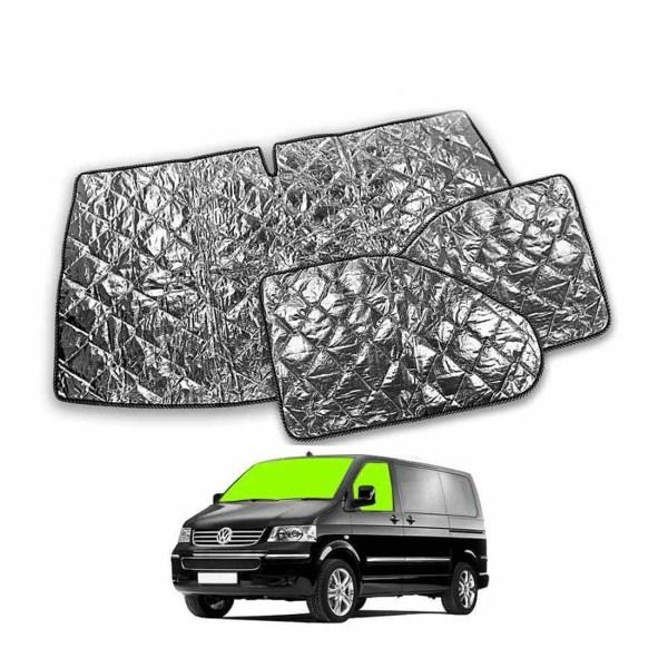VW T6 cab window silver screen kit.