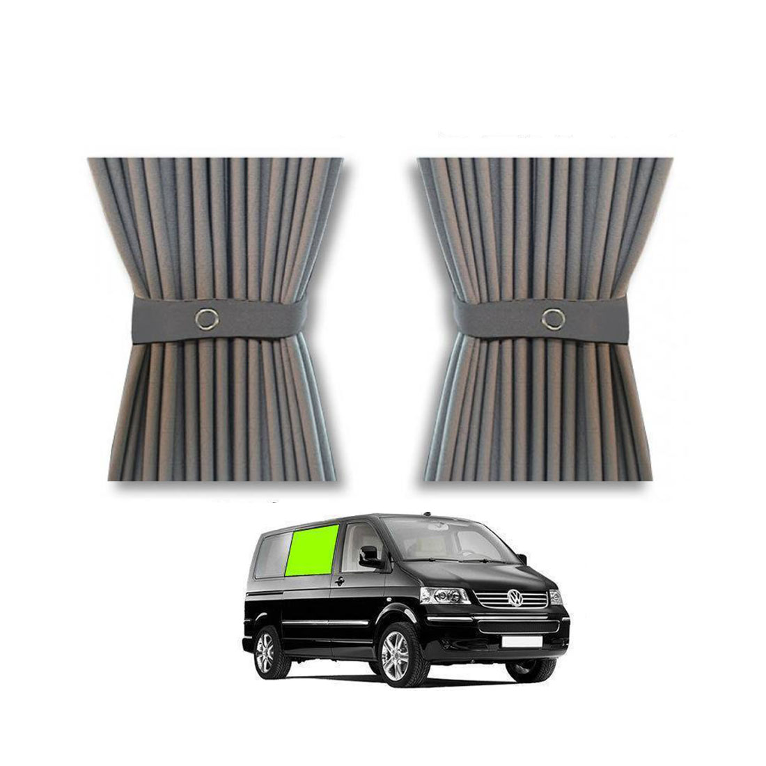 VW T5 & T6 curtain kit right center window.