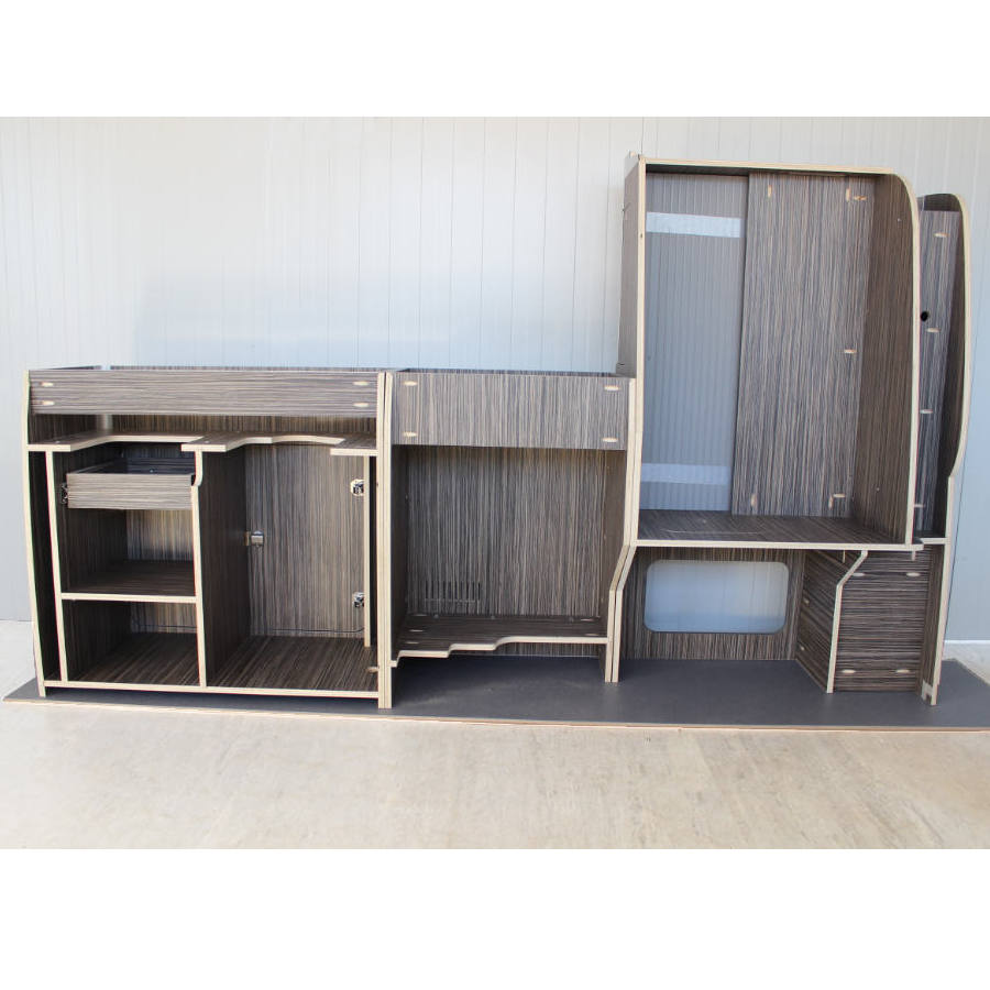 VW T6 campervan conversion kit furniture set.