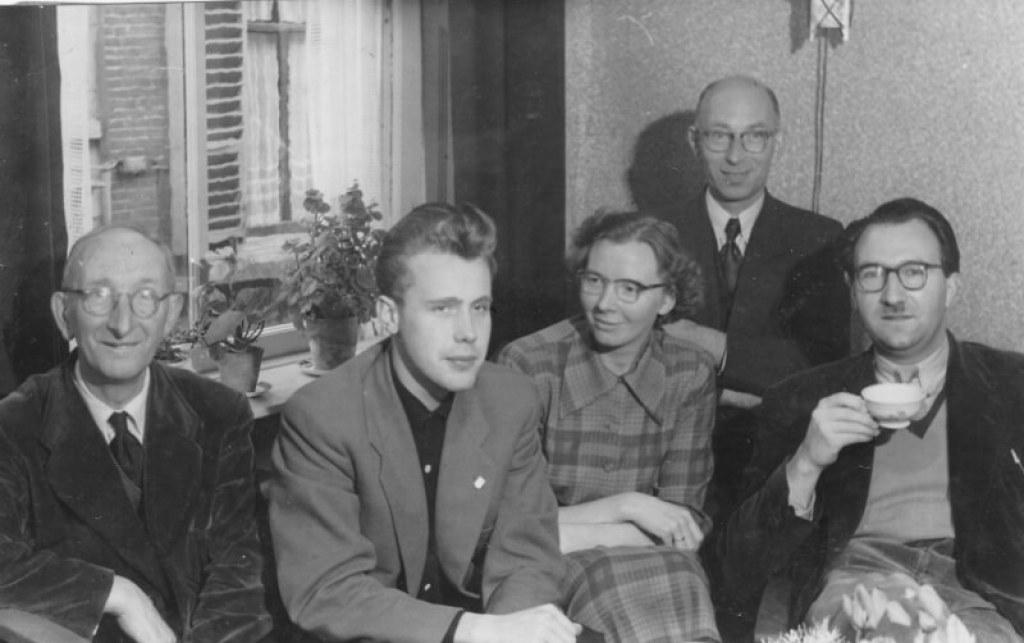 Willem in zijn jonge Kampense jaren.