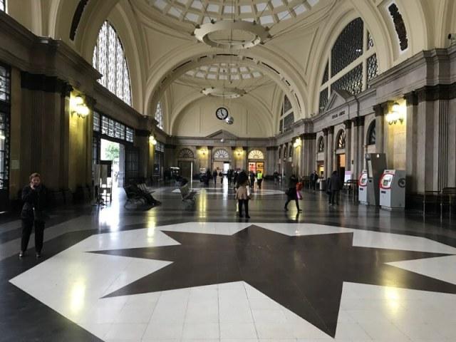 De hal van Station de Franca.(Barcelona).