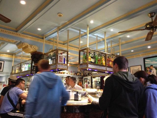Interieur café bar Bilbao.