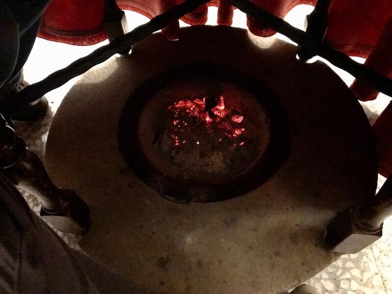 De 'verwarming' van Cortegana...