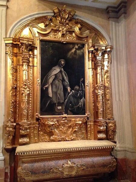 Het Hospital de Mujeres in Cádiz koestert dit schilderij van El Greco en vele andere kunstschatten.
