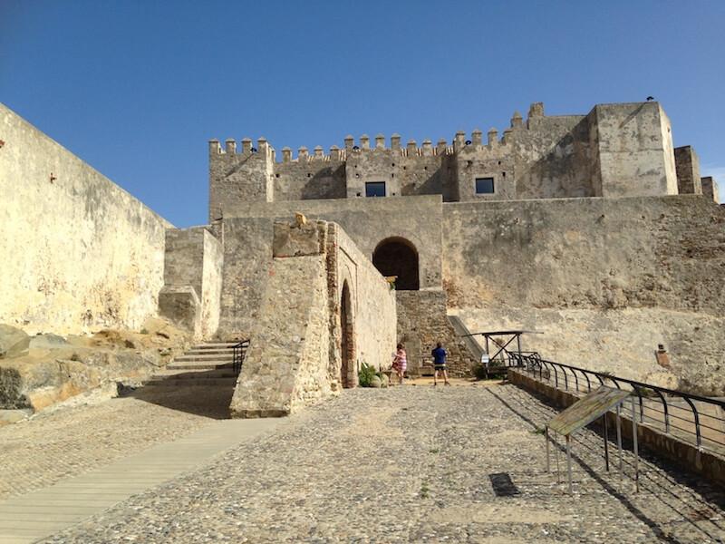 Castillo de Guzmán in Tarifa.