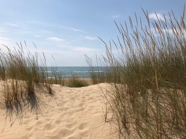 De mooie kust. (Costa de la Luz Noord).