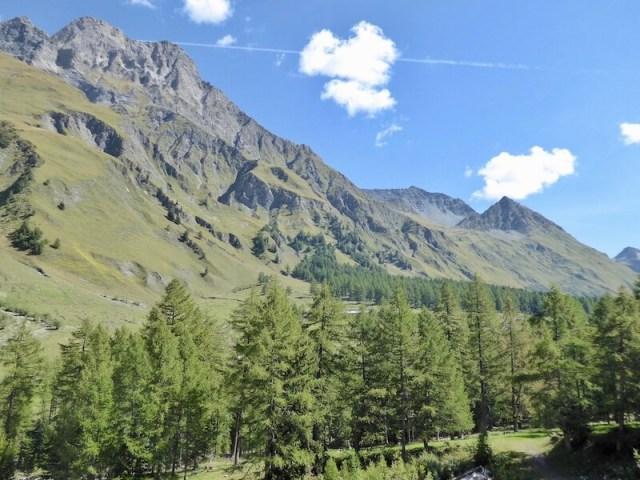 De bergketen La Tsavre (2978 meter)
