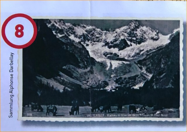 Foto (jaren dertig vd vorige eeuw) uit de folder van het toeristenbureau.