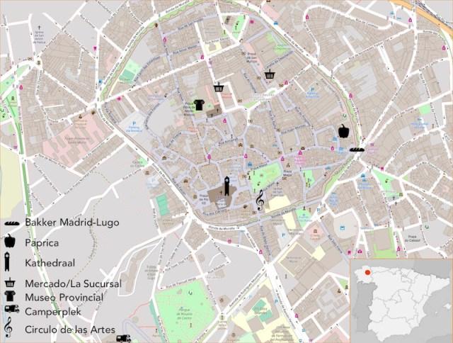 Lugo, de ommuurde stad