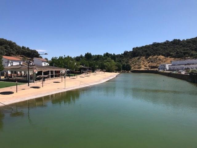 Het natuurlijke zwembad van San Nicolás del Puerto.