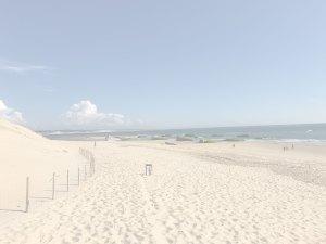 Leerer Strand am Cap Ferret