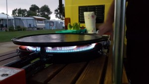 Aussenküche als spezial Aus- / Umbau-Projekt bei Vascos Campervan Service