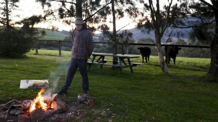 Vanlife Campfire
