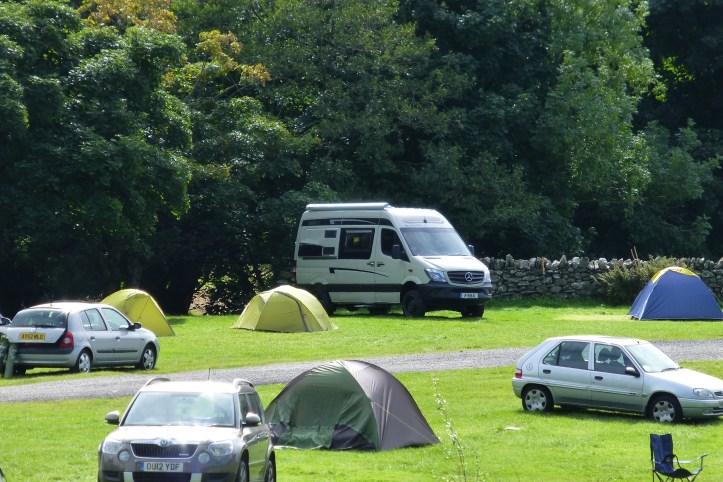 vanlife camping Great Britain