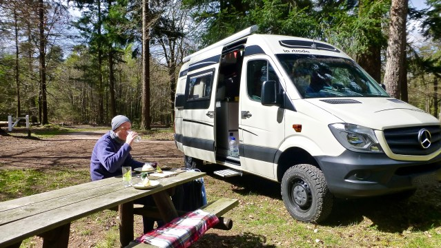Mercedes Sprinter campervan