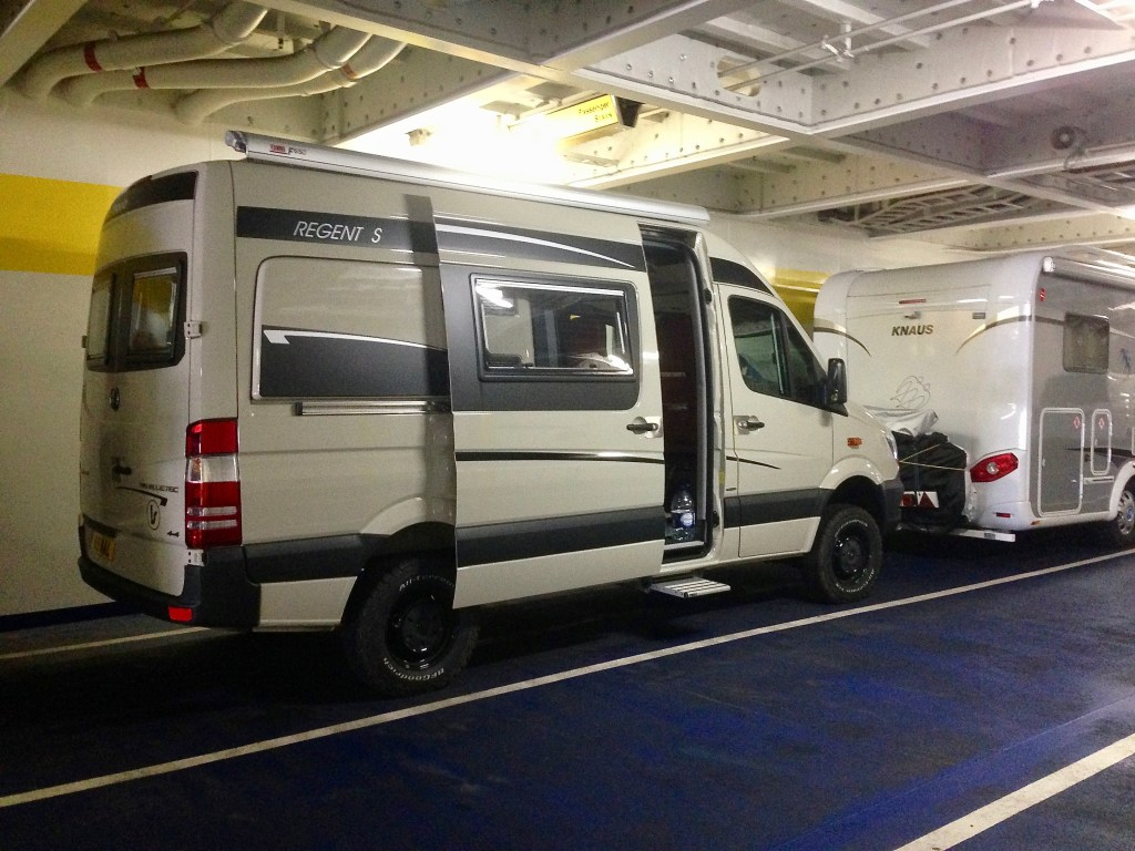 vanlife4x4 on dover to Calais Ferry