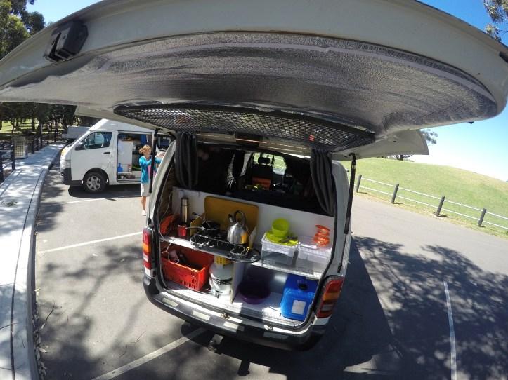 converting a van to campervan