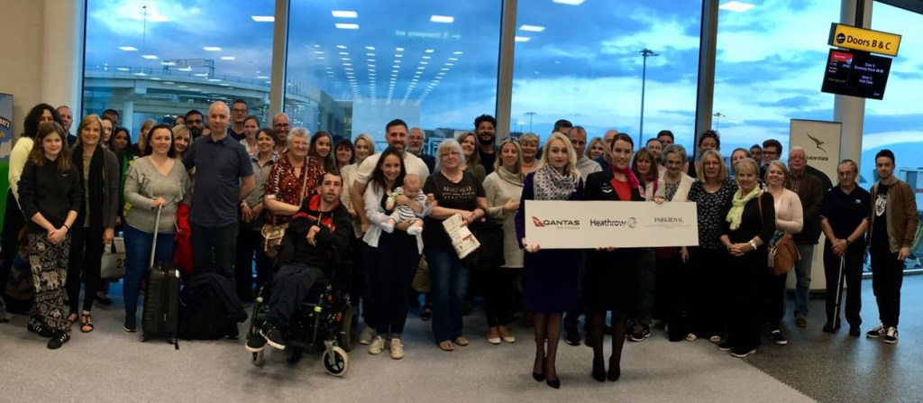 Heathrow 70th Birthday Competition Winners