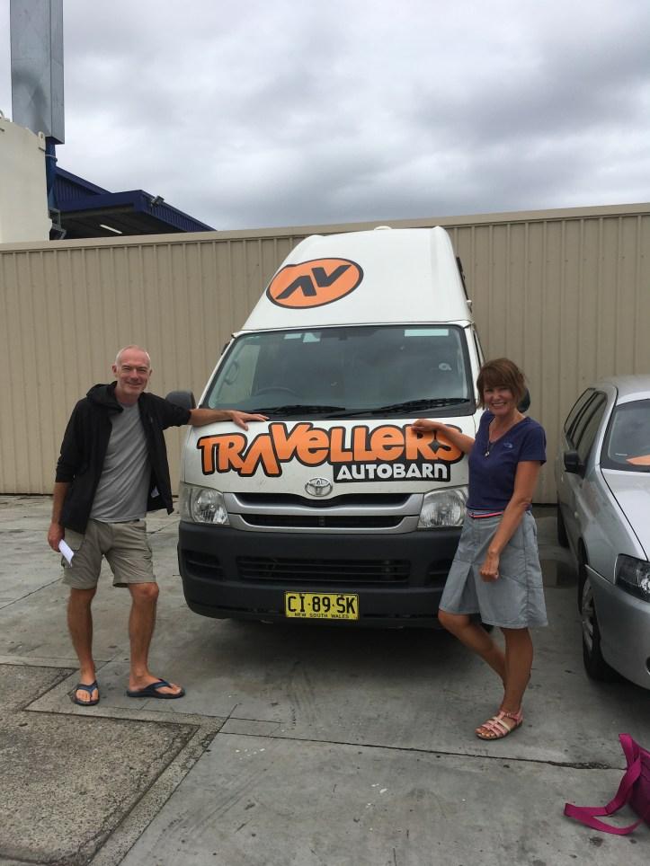 Travellers Autobarn kuga Campervan Australia