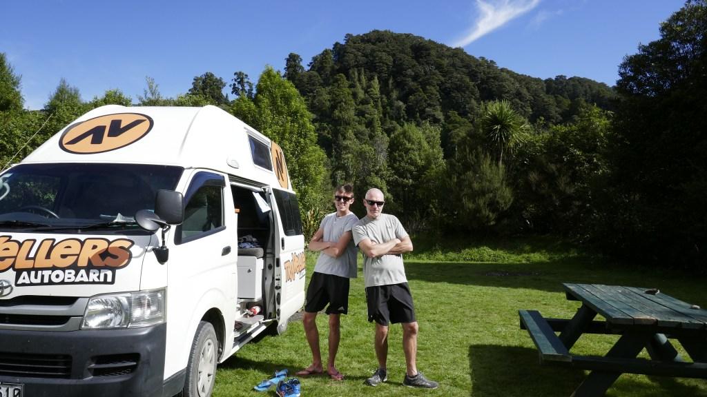 Campervan hire New Zealand Travellers Autobarn