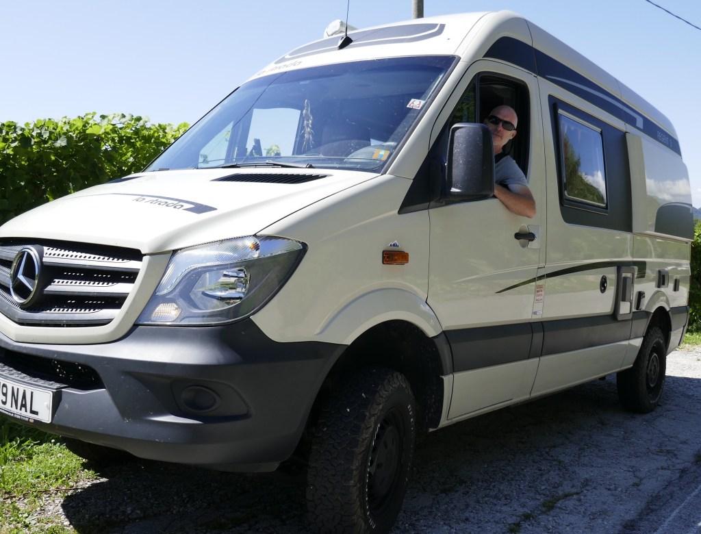 Vanlife Travel in our campervan