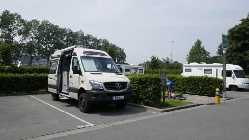 Motorhome Parking/Aire Bruges
